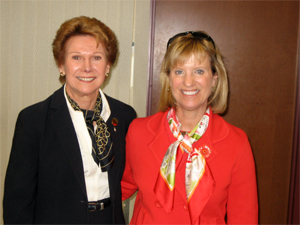 Barbara Miller and Susan Lynch