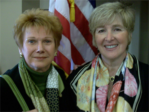 Barbara Miller and Debora Pignatelli
